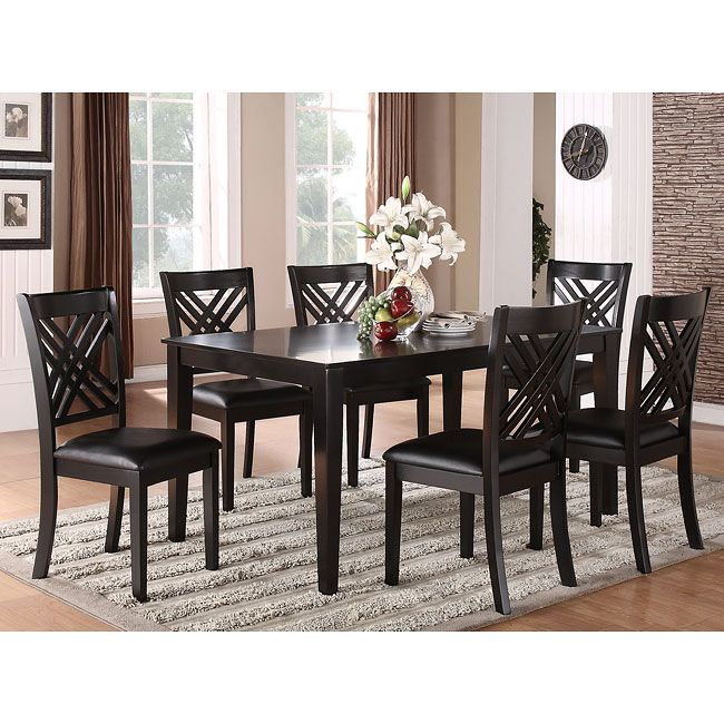 Charming Pc Dining Room Set Pictures House Designs Veerle Us