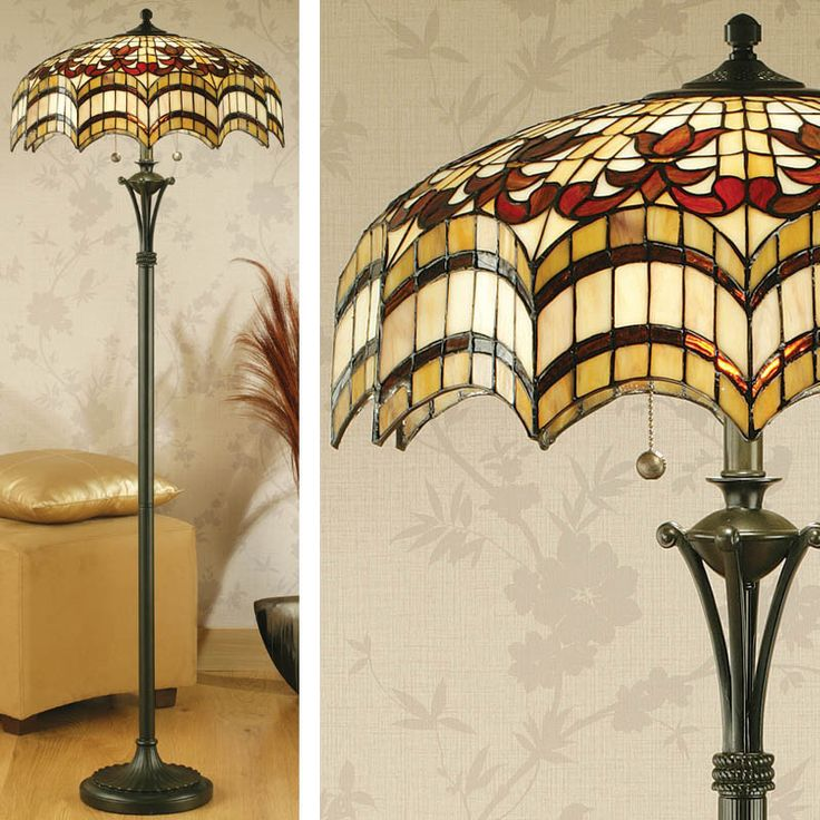 Tiffany Floor Lamp Photo