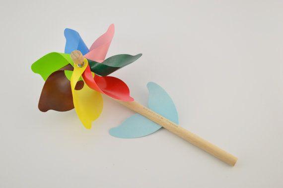 Pinwheel 25cm/9.8inches by CraftsAndMetal on Etsy
