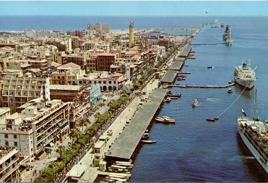 Port-Said  -  Egypte