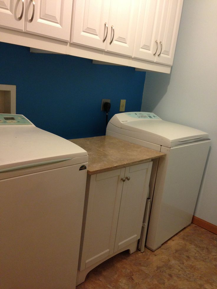 13 best images about laundry room on pinterest cleanses for Laundry room shelving