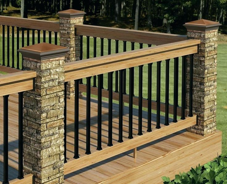 wood porch railing wood porch railing inspiration front ...