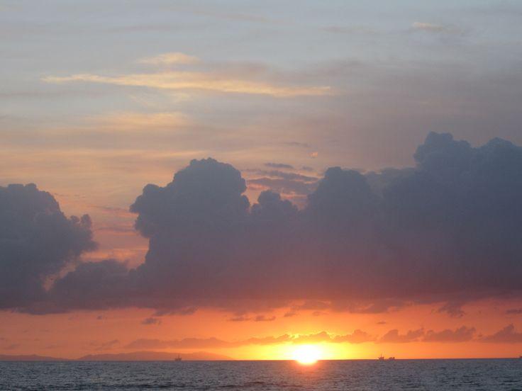 Sunset on Newport Beach