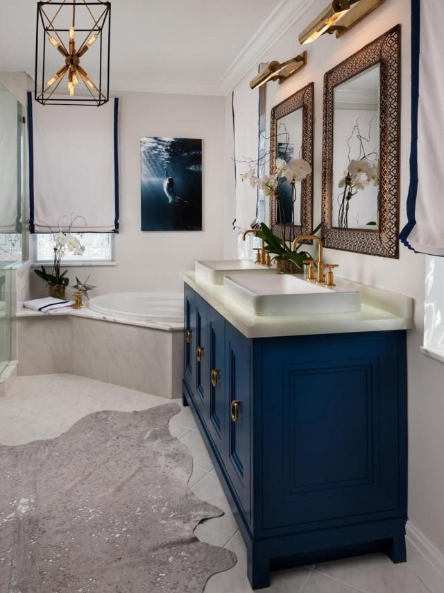 40 Stunning Bathroom Vanities Costco For Nice Bathroom Ideas Viralinspirations Blue Bathroom Vanity Blue Bathroom Blue Bathroom Interior
