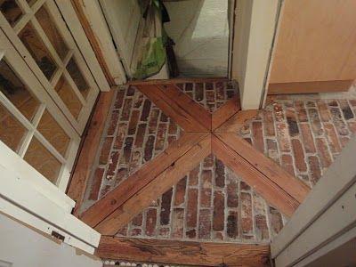 1900 Farmhouse Kitchen Floor  Floors  Kitchen flooring