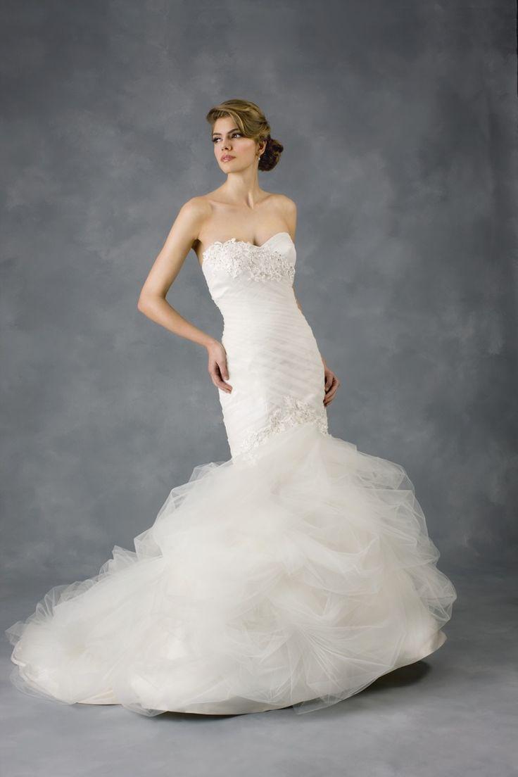 Ginger zee wedding dress   best BridalFashion images on Pinterest  Bridal fashion Bridal