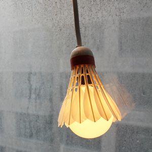 Badminton lamp. LOVE.