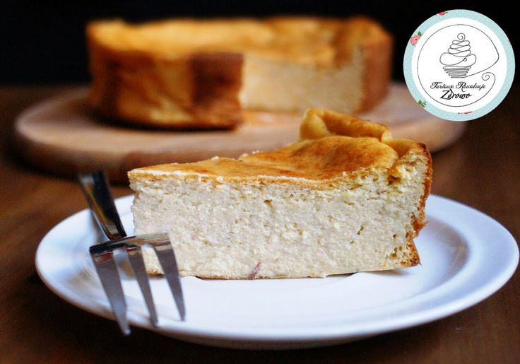 Tortowe Rewolucje Zdrowo: Moist no sugar cheesecake