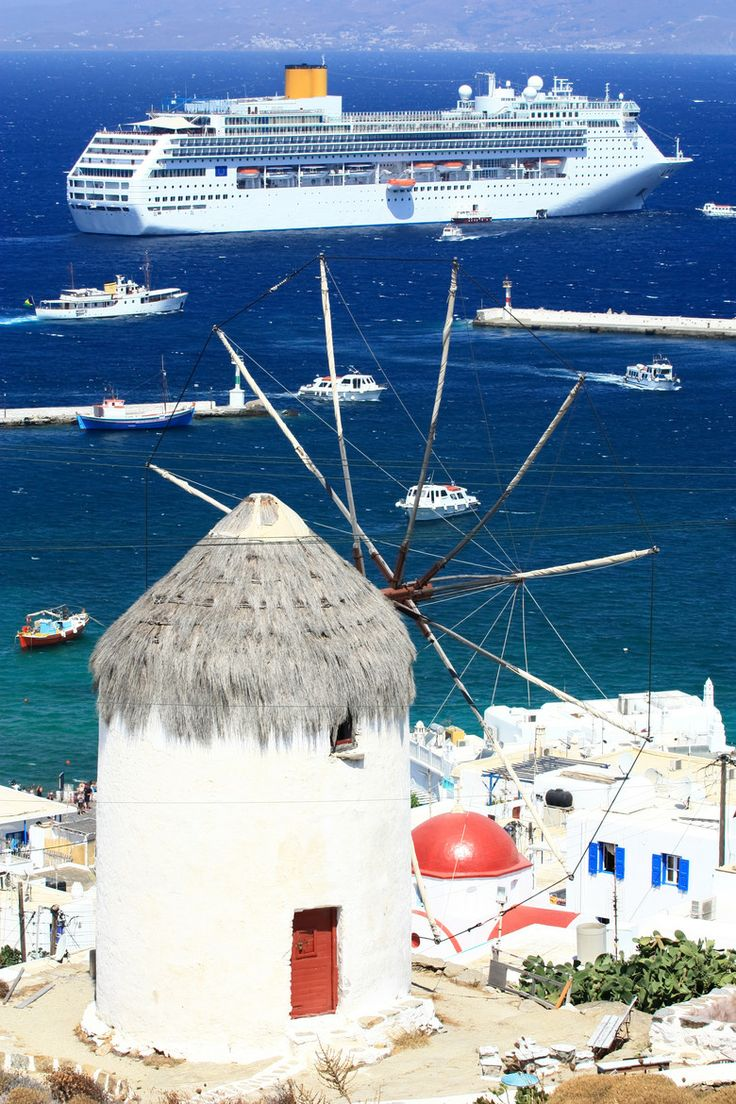 Aegean Cruise to Mykonos, Greece