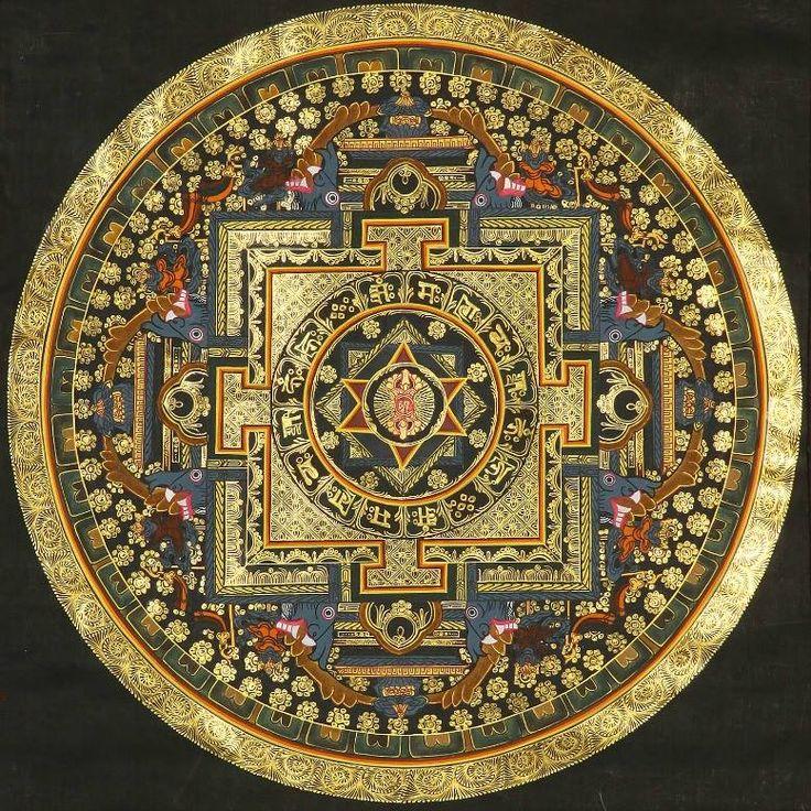 Tibetan Mandala, Meditation And Kali Yantra
