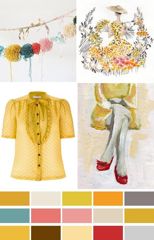 Yellows.