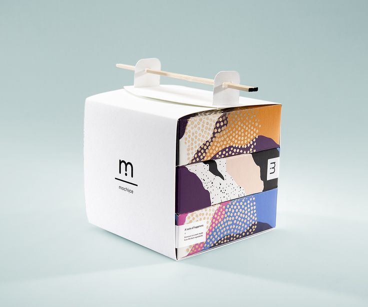 Mochiice new concept.We wanted to create a take away package for Mochiice, to attract the Swedish market.