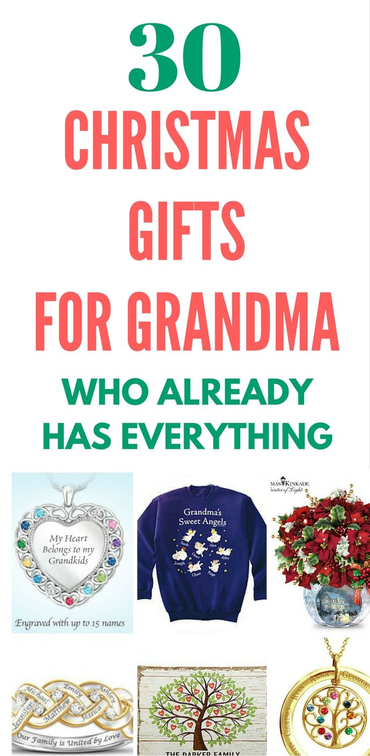 What To Get Grandma For Christmas