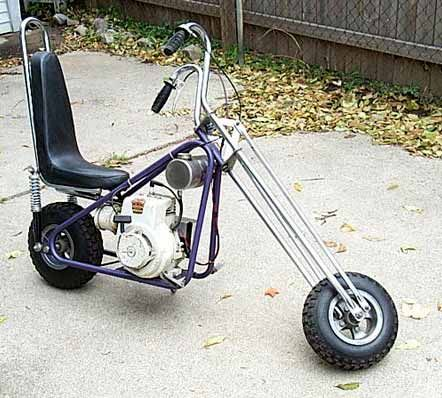 old minibike choppers | From another fourm....good read - OldMiniBikes.com Forum