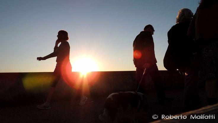 Walking at sunset 3923 #sunset
