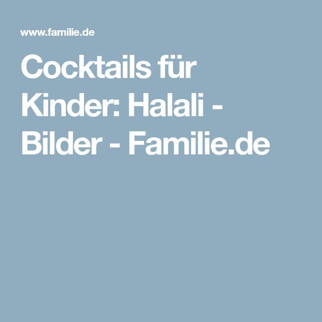 Cocktails für Kinder: Halali - Bilder - Familie.de