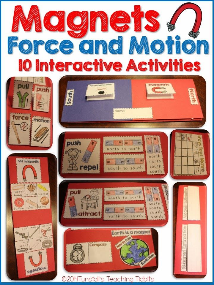 magnets, force and motion, teaching magnets, attract repel, how things move, north south, compass