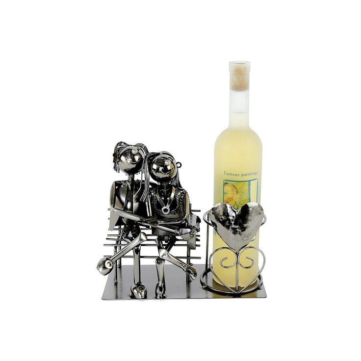 Flaschenhalter LIEBESPAAR Hochzeit Weinflaschenhalter