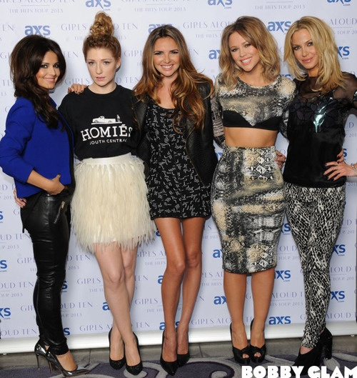 Girls Aloud are back! Eeeeepp we are just a little bit excited!!