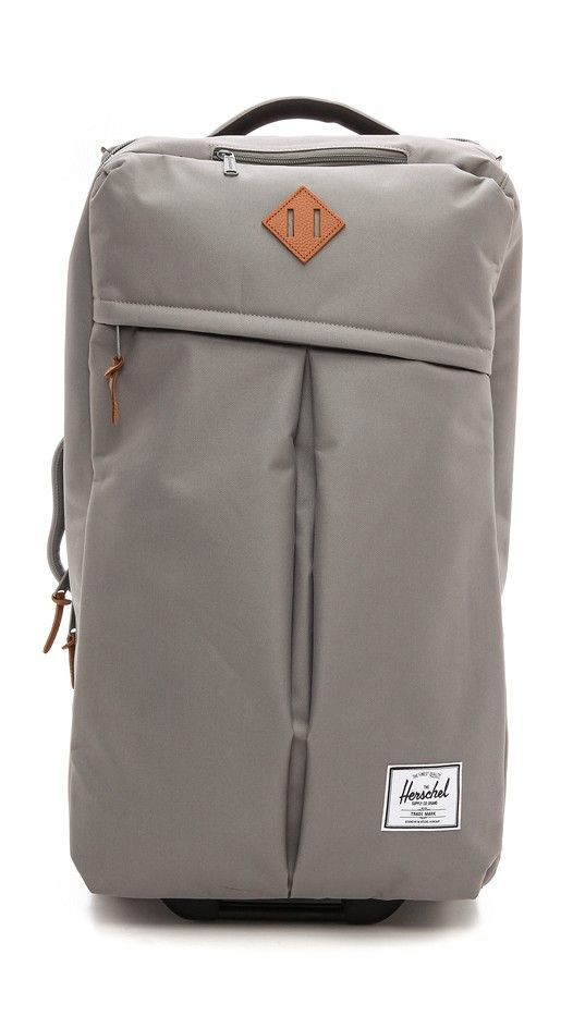 339ca76a4e9 For the outdoors lover    Herschel Supply Co. Parcel Luggage in grey   bahamascruisesuitcases