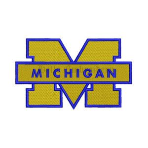 SALE**Michigan Wolverines 9 Size Embroidery Designs College Football Logos Machine Embroidery Pattern