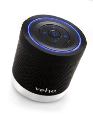 Veho VSS-009-360BT M4 Black   Bluetooth Speakers   Wireless Speakers   Portable Rechargeable Travel Speaker   Built in MP3 player