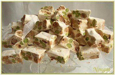 nougat in  french