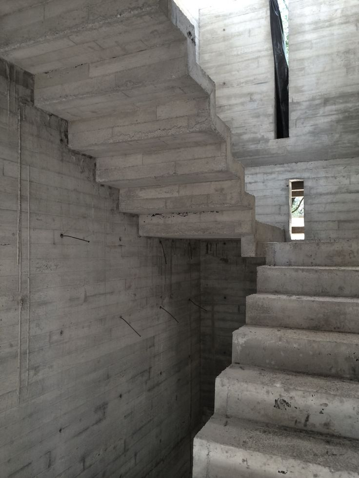 25 best ideas about escaleras de concreto on pinterest Modelos de escaleras de cemento