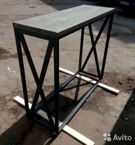 Проектируем и производим столы в стиле лофт и в индустриальном стиле. Ваши размеры и цвета, у нас в шоу-руме на ул. Часовой ...