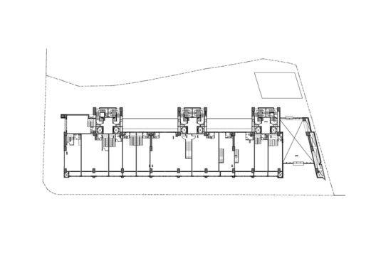 Edificio de Viviendas en Taipei / Chin Architects,Planta 02