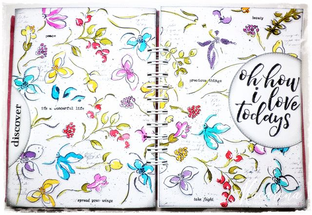 macarena-creativa: I Love Todays - Art Journal