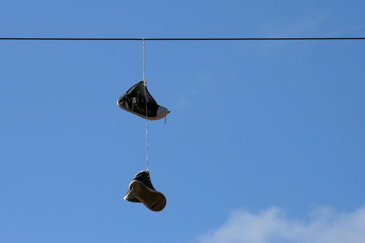 Blue Shoes Sky
