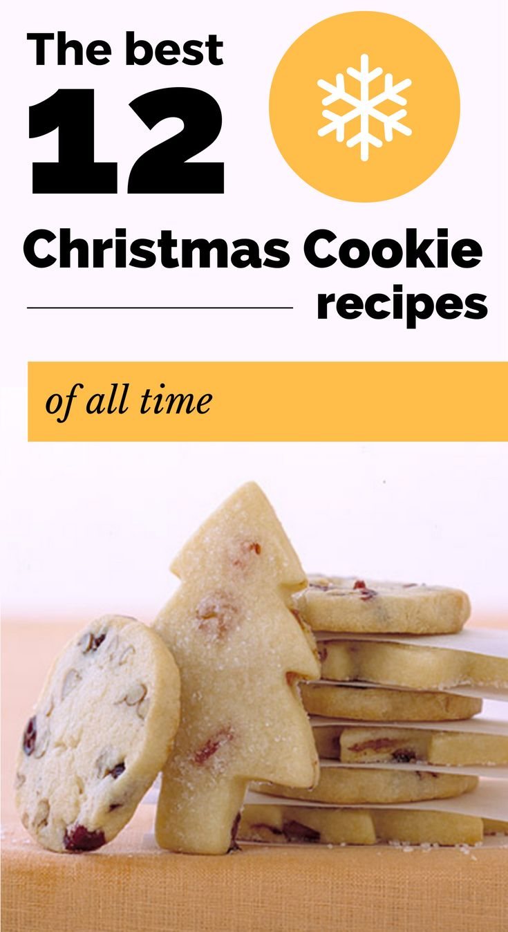 How to make these 12 Christmas cookie recipes. Image Credits: Martha Stewart A box of cookies is way better than a gift card, anyway. Sugar cookies