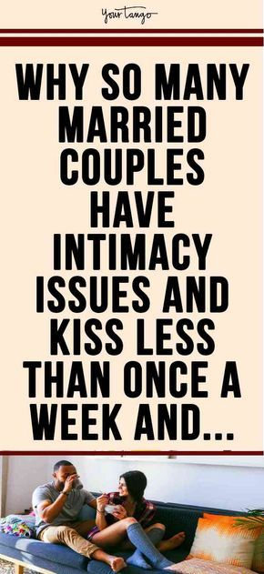The Worrisome Relationship Between >> The Worrisome Reason Why So Many Married Couples Kiss Less Than Once