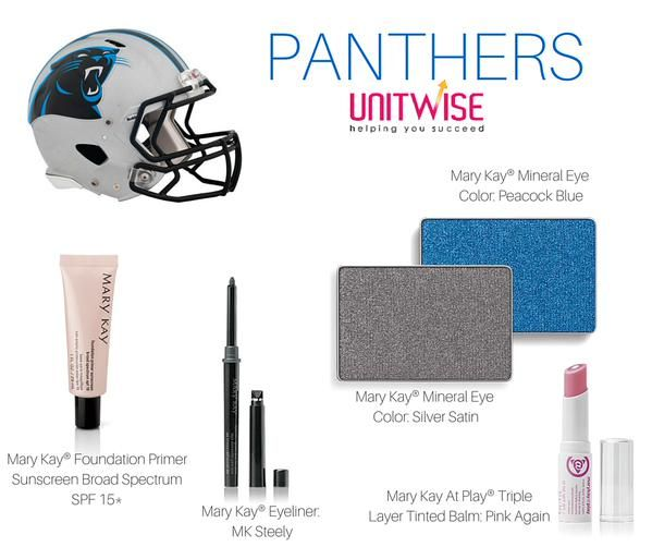 #NFL #Panthers #MaryKay    Game Day Inspiration - Carolina Panthers  Contact me today to help you achieve your Favorite NFL Team look!   Jennifer Emanuel Mary Kay Sales Director Cell/Text: 214-405-2512  Email: jennemanuel@sbcglobal.net