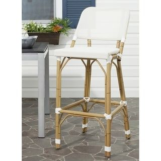 Shop for Safavieh Deltana Beige 30-inch Bar Stool. Get free shipping at Overstock.com - Your Online Furniture Outlet Store! Get 5% in rewards with Club O! - 15820410