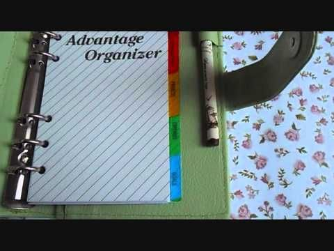 DIY Planner J&J Binder Binder Mini 6 Ring Hijau Mint ^ ^