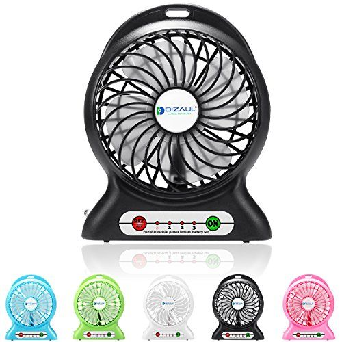 Portable Fan, Dizaul® mini usb rechargeable fan with 2600... https://www.amazon.com/dp/B01DW1TQU8/ref=cm_sw_r_pi_dp_R-KyxbPEABPVQ