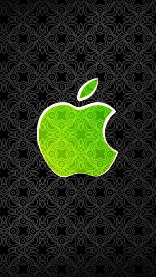 Green Apple Logo - The iPhone Wallpapers