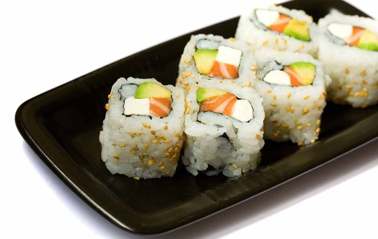 Secrets of Sushi - Philadelphia Roll  Great website for basic rolls and sauces.
