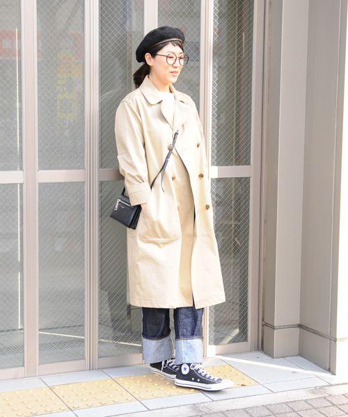 "Audience(オーディエンス) ""VENTILE""ギャバロングトレンチコート - snug(スナッグ) | 『日常をほんの少しだけ豊かに。』 上質で肩肘張らない普段着を提案する東京下町のセレクトショップ"