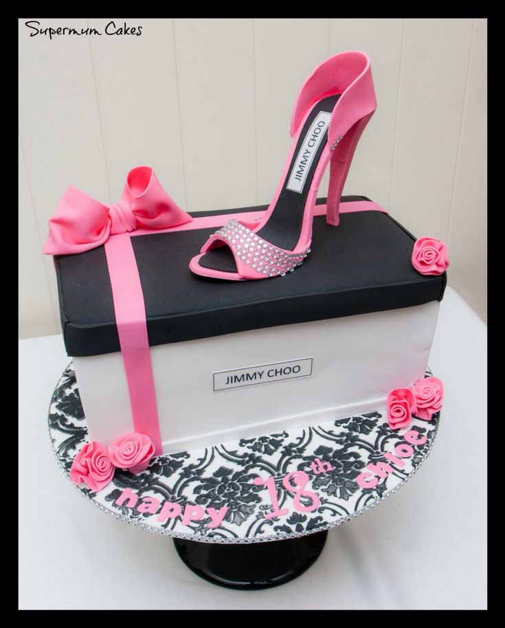 Jimmy Choo cake designer