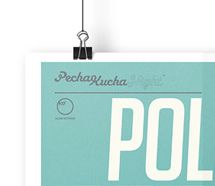 Pecha Kucha Manchester poster design.