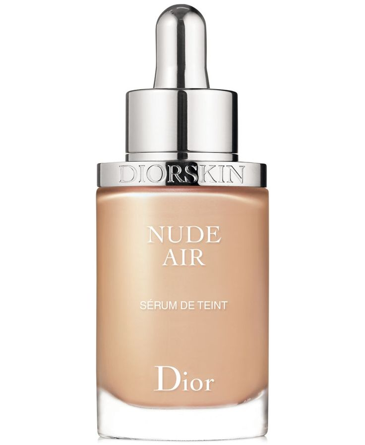 Dior Diorskin Nude Air Serum Nude Healthy Glow Ultra-fluid Serum Foundation in 21 Linen   $53