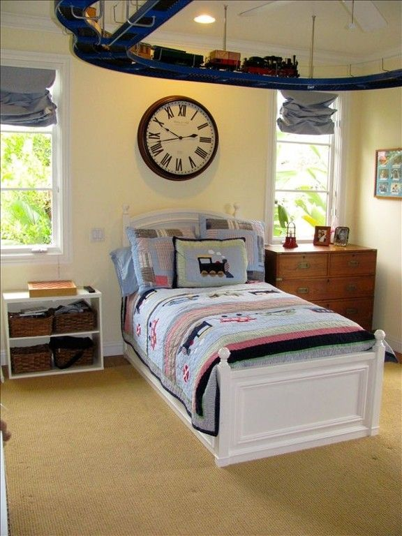 Toddler Boy Room Decorating Ideas: 48 Best Boys Train Themed Bedroom Images On Pinterest