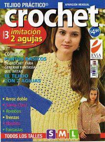 Crochet Imitaciòn 2 Agujas Evia - Alejandra Tejedora - Picasa Web Albums