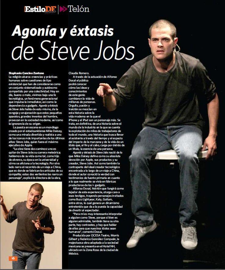 ¿Todavía no estás muy convencido de ver Agonía y Éxtasis de Steve Jobs?  ¡Esta nota te ayudará!