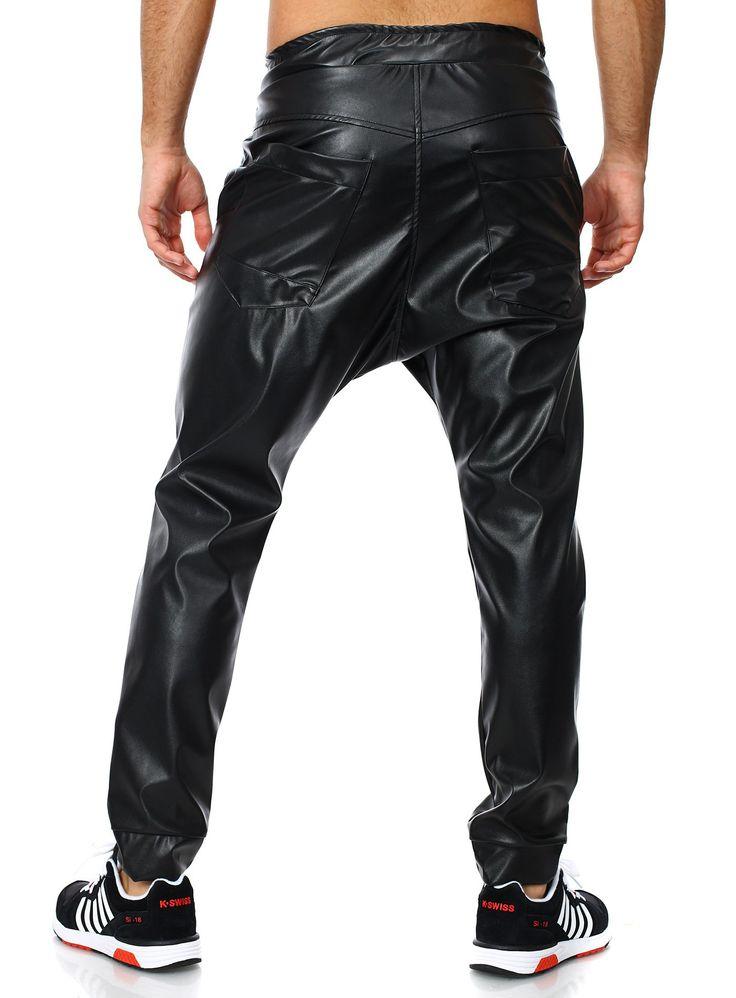 Jogginghose Hose Sporthose Herren Sweathose Freizeithose Männer schwarz Baxmen Sweatpant Loose Fit schwarz M