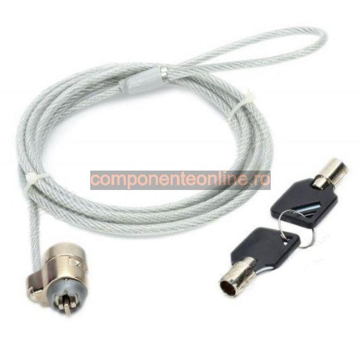 Cablu securitate pentru expunere laptopuri - 130684