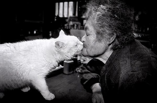 I love the cat, and I miss my grandmom.